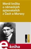 Menší knížka o německých spisovatelích z Čech a Moravy - obálka
