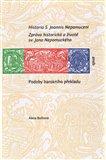 Historia S. Joannis Nepomuceni (Zpráva historická o životě sv. Jana Nepomuckého aneb Podoby barokníh) - obálka