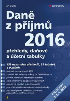 Obálka titulu Daně z příjmů 2016