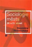 Sociologie města 20. a 21. století - obálka