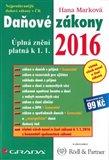 Daňové zákony 2016 (Úplná znění platná k 1. 1. 2016) - obálka