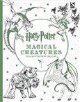 Harry Potter Magical Creatures Coloring Book - obálka