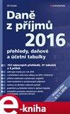 Daně z příjmů 2016 (Elektronická kniha) - obálka