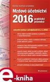 Mzdové účetnictví 2016 (Elektronická kniha) - obálka