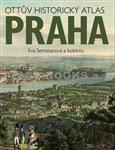 Ottův historický atlas Praha - obálka