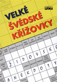 Obálka titulu Velké švédské křížovky - Židovské anekdoty