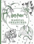 Harry Potter Magical Creatures Coloring Book - obálka