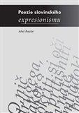 Poezie slovinského expresionismu - obálka