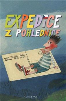 Obálka titulu Expedice z pohlednice