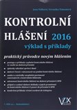 Kontrolní hlášení 2016 výklad s příklady (praktický průvodce novým hlášením) - obálka