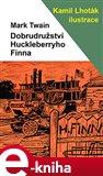 Dobrodružství Huckleberryho Finna - obálka