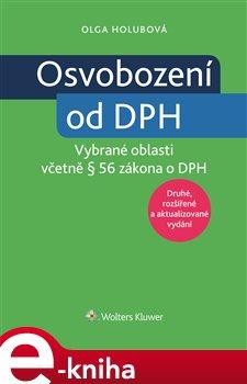 Obálka titulu Osvobození od DPH - vybrané oblasti, 2. vydání