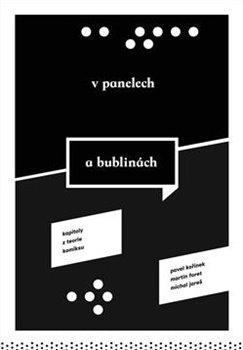 Obálka titulu V panelech a bublinách. Kapitoly z teorie komiksu