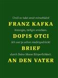 Dopis otci / Brief an den Vater - obálka