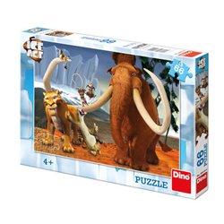 Dino Puzzle Doba ledová: Partička 66 dílků