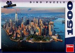 Dino Puzzle Pohled na New York 1500 Dílků