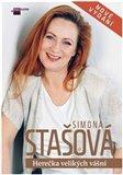 Simona Stašová (Herečka velikých vášní) - obálka