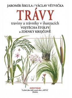 Trávy. traviny a trávníky v ilustracích - Jaromír Šikula, Václav Větvička