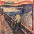 Nástěnný kalendář - Edvard Munch 2017 - obálka