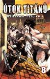 Útok titánů 8 - obálka