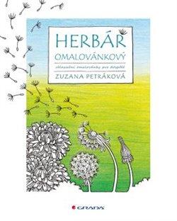 Herbář omalovánkový. relaxační omalovánky pro dospělé - Zuzana Petráková