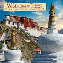 Nástěnný kalendář - Wisdom of Tibet 2017