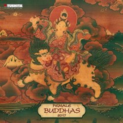 Nástěnný kalendář - Female Buddhas 2017