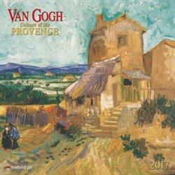Nástěnný kalendář - Vincent van Gogh 2017. Colours of the Provence