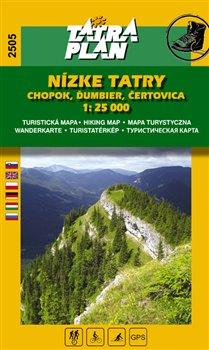 Nízke Tatry - Chopok, Ďumbier, Čertovica. 1:25 000