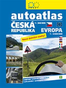 Autoatlas ČR + Evropa. 1 : 4 000 000
