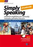 Simply speaking pro středně pokročilé (učebnice angličtiny pro samouky metodou přímého mluvení) - obálka