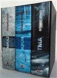 3 x Bernard Minier - box Mráz, Kruh, Tma - obálka