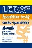 Španělsko-český a česko-španělský slovník - obálka