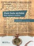 Zlatá bula sicilská - obálka