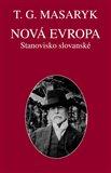 Nová Evropa. Stanovisko slovanské - obálka