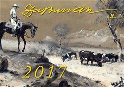 Nástěnný kalendář Zdeněk Burian 2017 - Zdeněk Burian