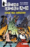 Zločin mezi dinosaury - obálka