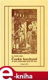 Česká kuchyně za dob nedostatku před sto lety - obálka