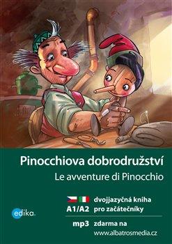 Obálka titulu Pinocchiova dobrodružství A1/A2