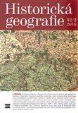 Historická geografie 42/2 2016 - obálka