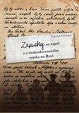 Zápisky ze zajetí  a z československého vojska na Rusi - obálka