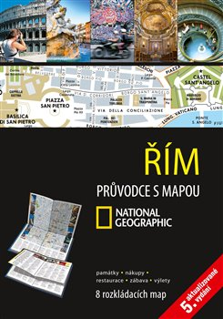 Řím. Průvodce s mapou National Geographic - kol.