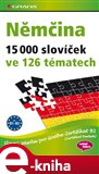 Němčina 15 000 slovíček ve 126 tématech - obálka