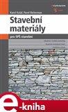 Stavební materiály pro SPŠ stavební - obálka
