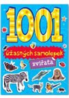 Obálka knihy 1001 úžasných samolepek - Zvířata