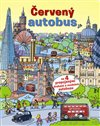 Obálka knihy Červený autobus + model autobusu