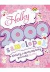 Obálka knihy Holky – 2000 samolepek