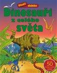 Obálka knihy Otevři okénko – Dinosauři z celého světa