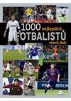 Obálka knihy 1000 nejlepších fotbalistů všech dob