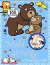 Obálka knihy Malá zvířátka - vybarvuj a lep